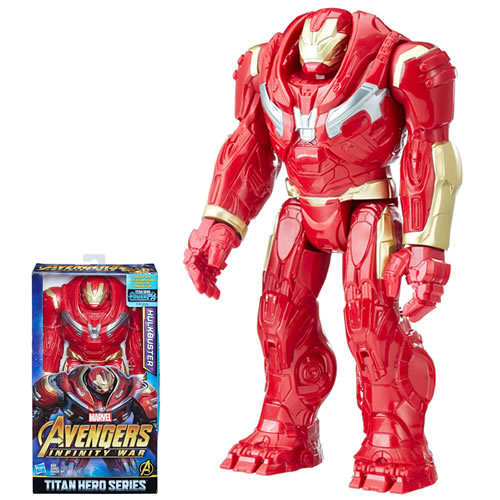 "Avengers 3 Infinity War Movie Figures - 12"" Titan Hero Series Hulkbuster w/ Power FX Port - AS00"
