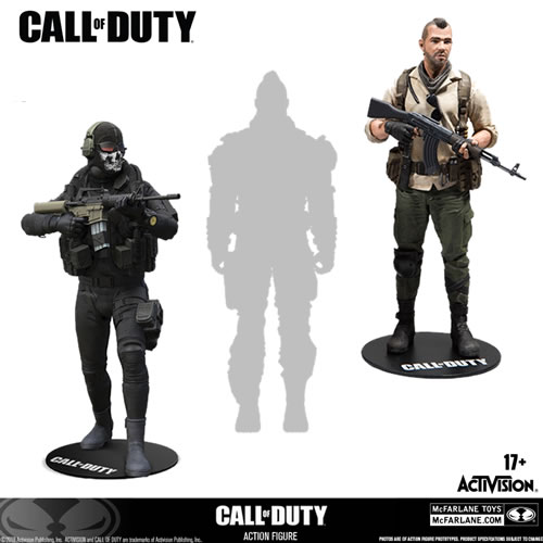 "Call of Duty Figures - 7"" Scale Figure Assortment"