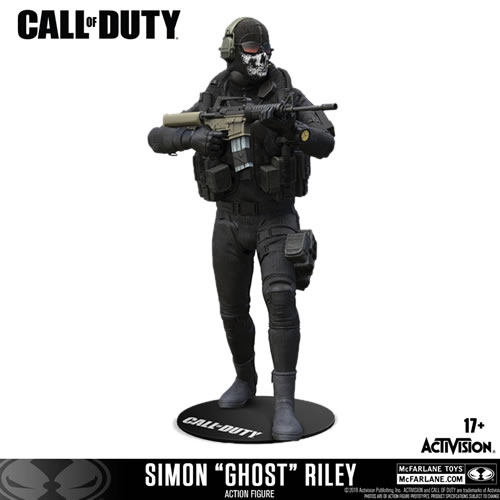 "Call of Duty Figures - 7"" Scale Simon ""Ghost"" Riley"
