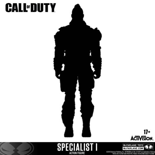 "Call of Duty Figures - 7"" Scale Specialist #01"