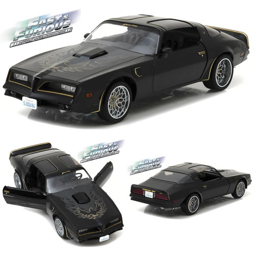 1:18 Scale Diecast - Artisan Collection - Fast & Furious (2009) - Tego's 1978 Pontiac Firebird Trans Am