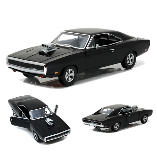 1:18 Scale Diecast - Artisan Collection - Fast & Furious - The Fast And The Furious (2001) - 1970 Dodge Charger