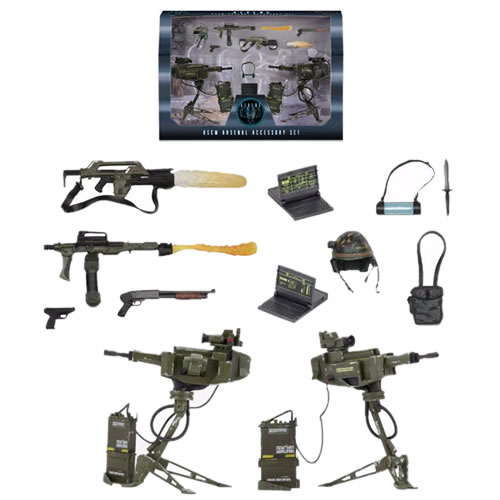 Alien Accessories - Aliens Accessory Pack USCM Arsenal Weapons Pack