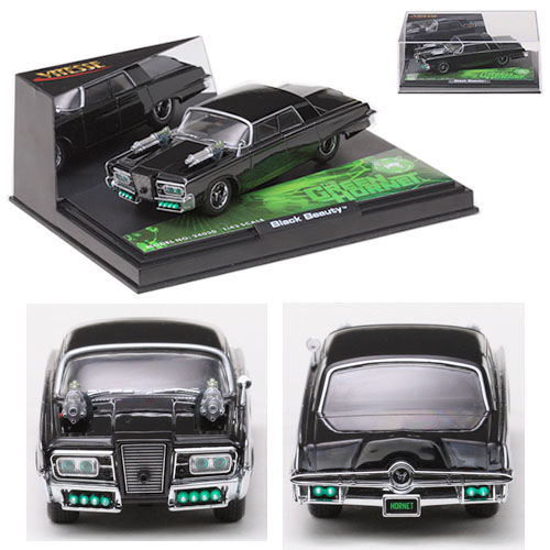 1:43 Scale Diecast - The Green Hornet Black Beauty (2011)