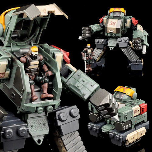 Acid Rain Figures - B2Five Marine Sieger Stronghold ST2M Set