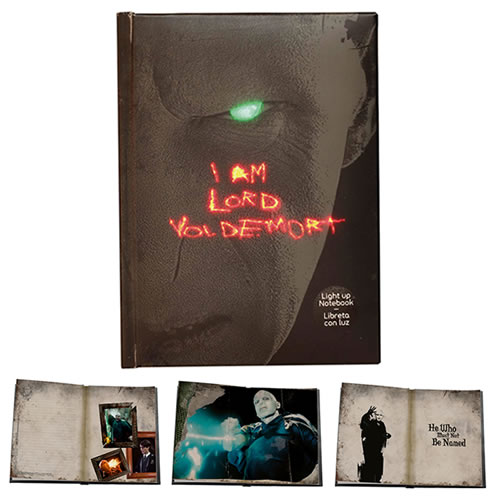 Stationary - Harry Potter - Lord Voldemort Light-Up Notebook