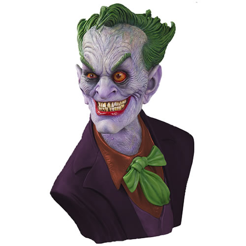 DC Gallery Busts - 1/1 Scale (Life-Sized) The Joker By Rick Baker Bust