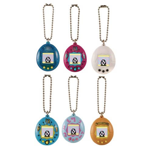 Tamagotchi Digital Pets - 8pc Chibi Tamagotchi Display W2
