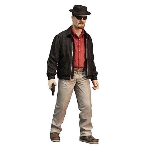"Breaking Bad 12"" Figures - Walter White as Heisenberg Exclusive Color Variant Version"