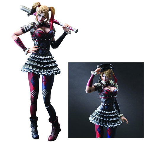 Batman Arkham Knight Play Arts Kai Figure - Harley Quinn