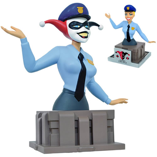 Batman The Animated Series Mini Busts - 25th Anniversary Harley Quinn Bust