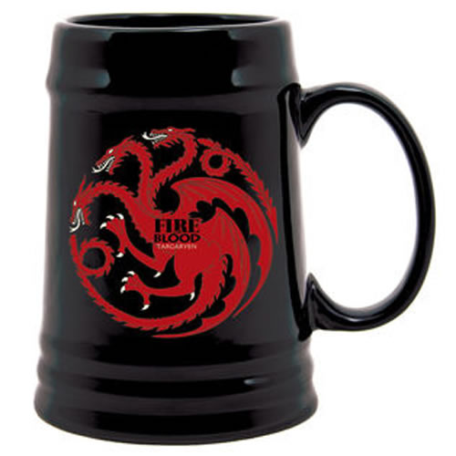 Drinkware - Game of Thrones - House Targaryen Sigil Stein