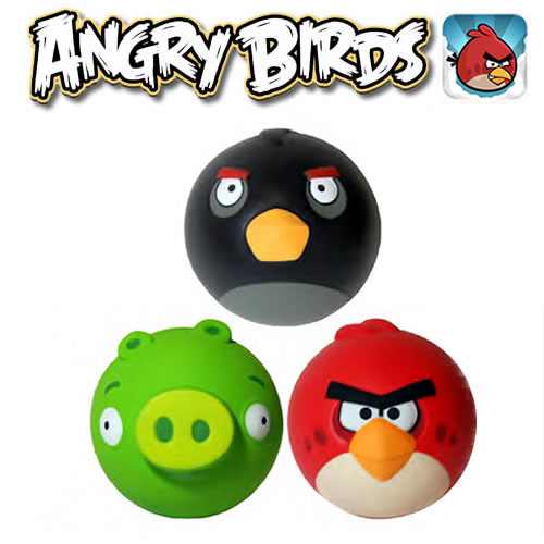 "Angry Birds Balls - 4"" Sculpted Foam Ball Assortment"