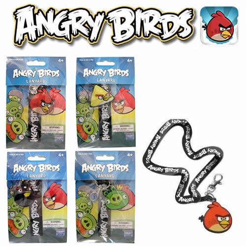 Angry Birds Lanyard - Lanyard Assortment