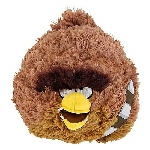 "Angry Birds Star Wars Plush - 8"" Chewbacca"