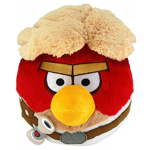 "Angry Birds Star Wars Plush - 16"" Luke Skywalker"