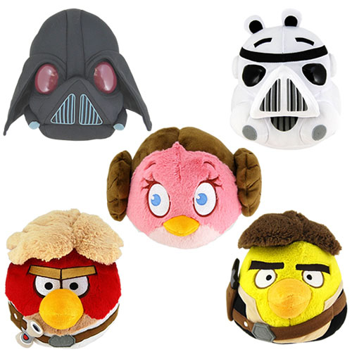 "Angry Birds Star Wars Plush - 5"" Plush Assortment"