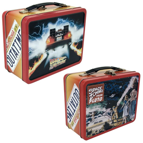 Back to the Future Retro Tin Tote