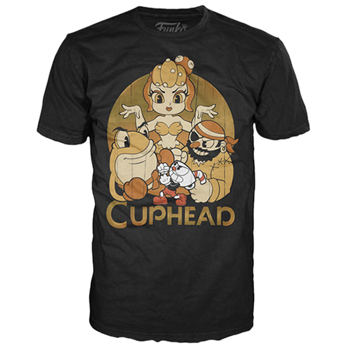 T-Shirts - POP! Tees - Cuphead - Cuphead & The Bosses