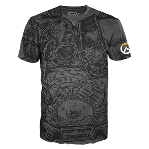 T-Shirts - Funko Tees - Overwatch - Roadhog Jumbo