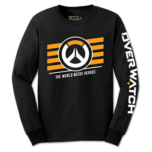 T-Shirts - Funko Tees - Overwatch - Overwatch Logo Long Sleeve