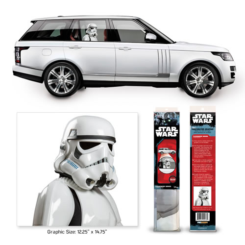 Automotive Graphics - Star Wars - ANH Stormtrooper Passenger Series Window Decal