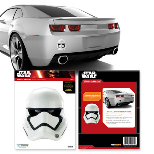 Automotive Graphics - Star Wars - 1st Order Stormtrooper Helmet