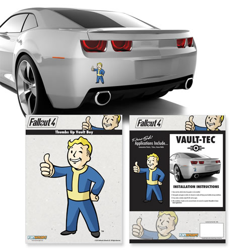 Automotive Graphics - Fallout 4 - Thumbs-Up Vault Boy Mini