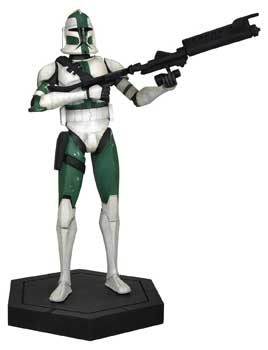 Star Wars CW Maquette - Commander Gree