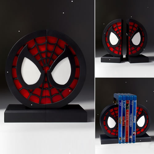 Bookends - Marvel - Spider-Man Logo Bookends
