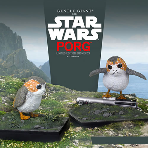 Bookends - Star Wars - Porg