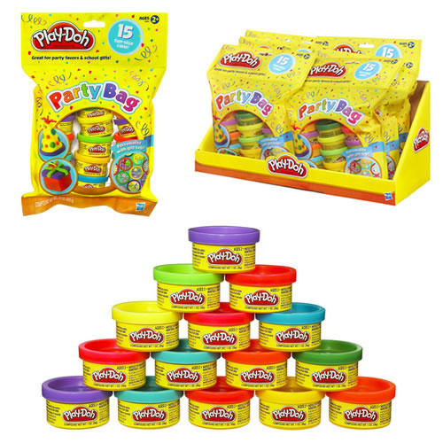 Play-Doh - 6pc Party Bag Display - 0750