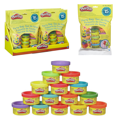 Play-Doh - 8pc Party Bag Display - AS00
