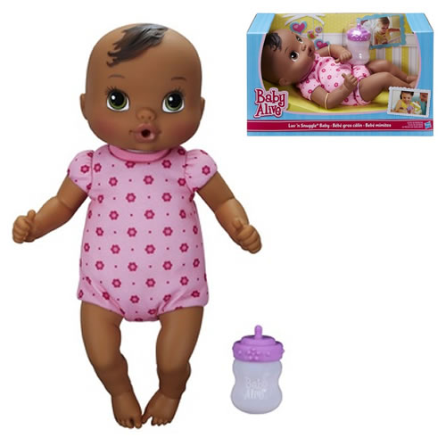 Baby Alive - Luv N Snuggle Baby Doll African American - 2230