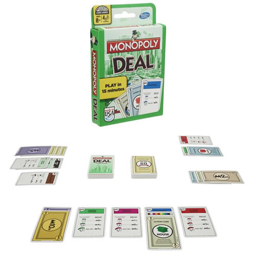 Card Games - Monopoly Deal - 0000