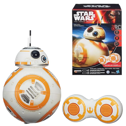 Star Wars Figures - Ep VII The Force Awakens - Remote Control BB-8 Figure - AS00