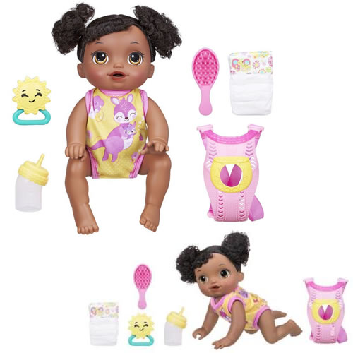 Baby Alive Dolls - Baby Go Bye Bye Doll (African American) - A001