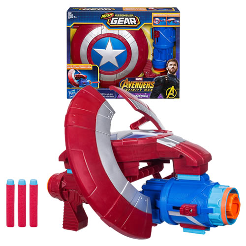 Avengers 3 Infinity War Movie Roleplay - Nerf Captain America Assembler Gear - AS00