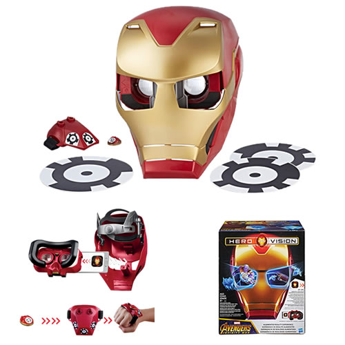 Avengers 3 Infinity War Movie Roleplay - Hero Vision Iron Man AR Experience - AS00
