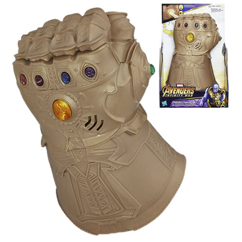 Avengers 3 Infinity War Movie Roleplay - Infinity Gauntlet Electronic Fist - AS00