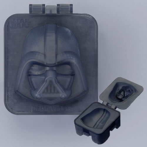 Boiled Egg Shapers - Star Wars - Darth Vader