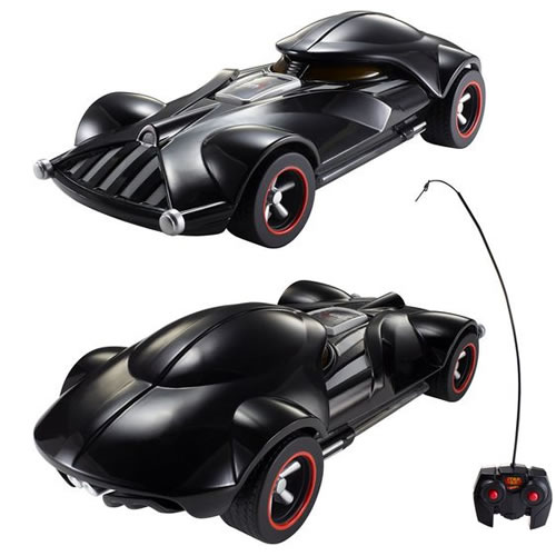 Hot Wheels Star Wars - 1:18 Scale Darth Vader Remote Control Vehicle