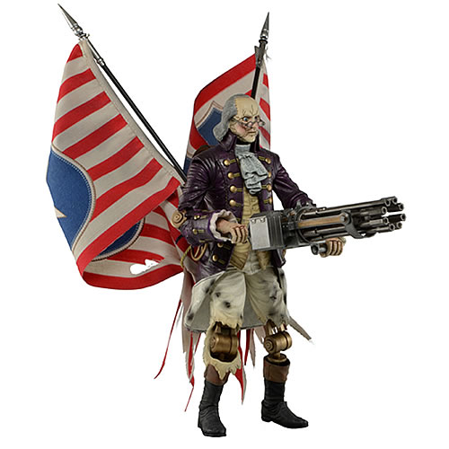 "Bioshock Infinite 9"" Figures - Benjamin Franklin ""Heavy Hitter"" Patriot"