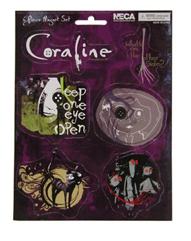 Coraline Magnet Sheet - Set A