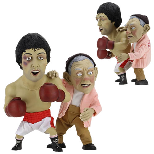 Rocky Puppet Maquettes - Rocky & Mickey