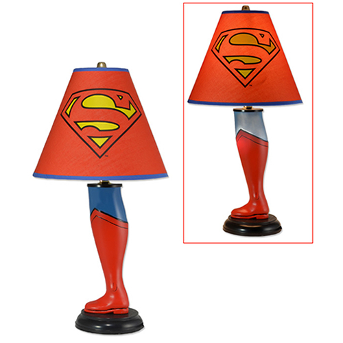 "DC Comics Classics Lamp - 20"" Superman Leg Lamp"