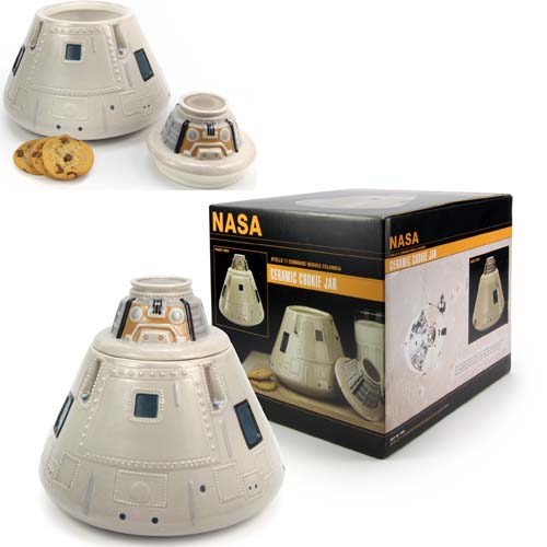 NASA Accessories - Apollo Capsule Cookie Jar