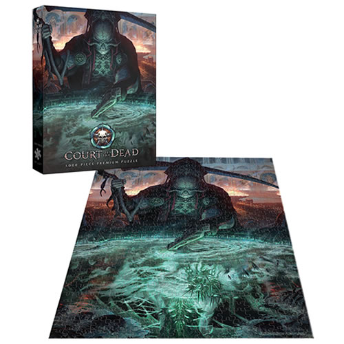 Puzzles - 1000 Pcs - Court Of The Dead - The Dark Shepherd?s Reflection