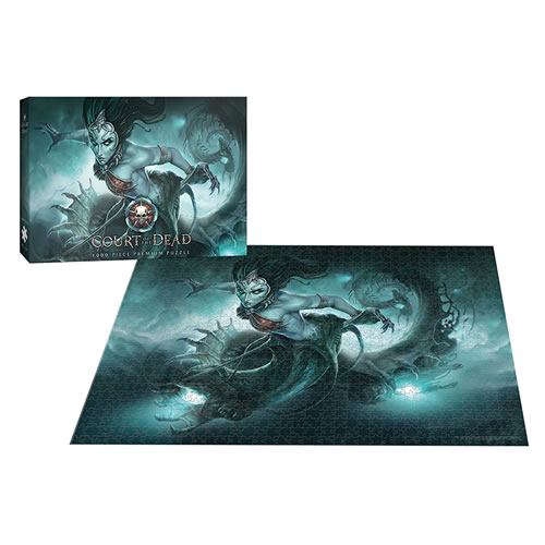 Puzzles - 1000 Pcs - Court Of The Dead - Death?s Siren