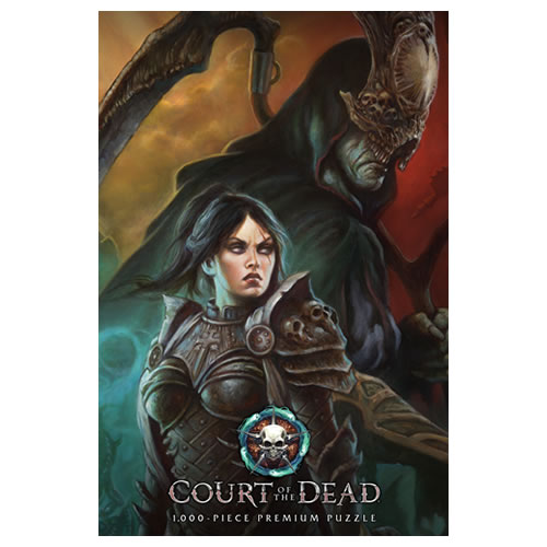 Puzzles - 1000 Pcs - Court Of The Dead - A Matter of Life and Death